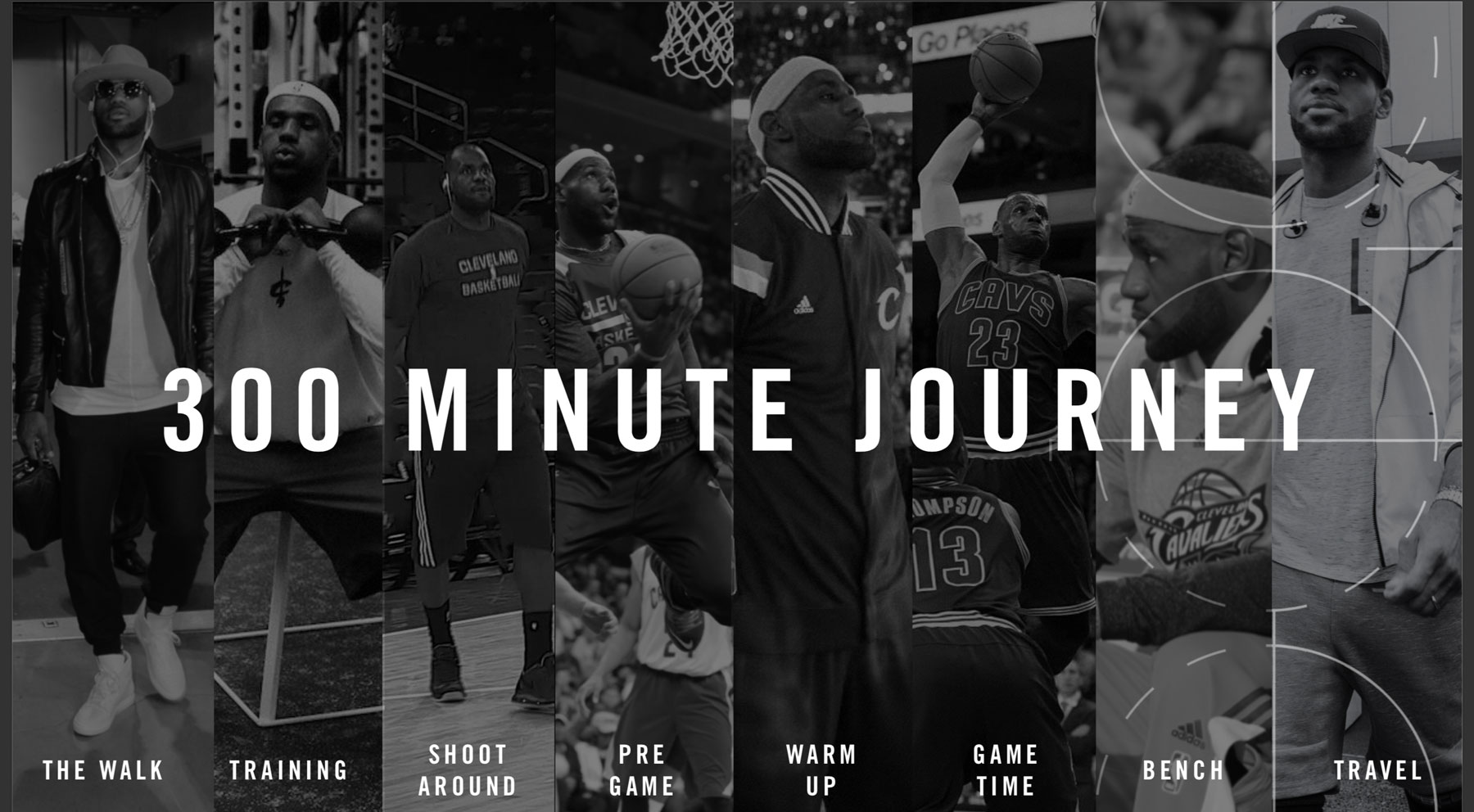 Nike NBA Connected Jersey UX 300 Minute Journey Pre to Post Game